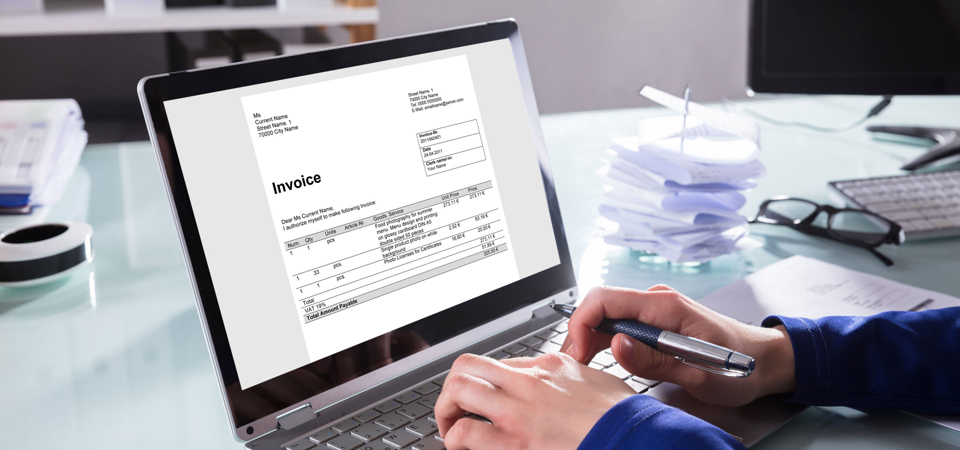 Bookkeeping, invoicing, and getting paid
